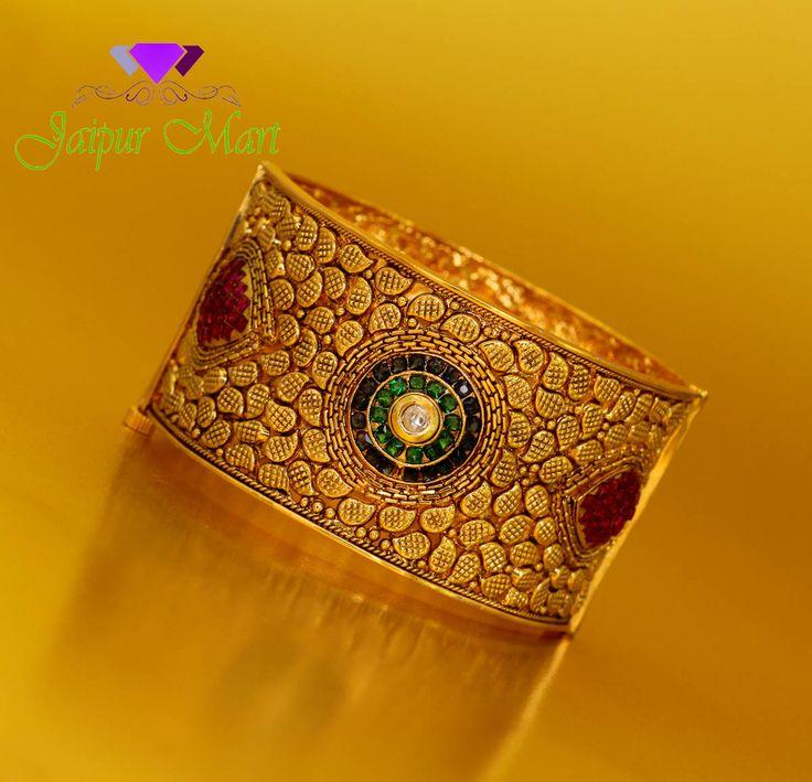 Red Green Stone Gold Plated Single Bracelet Size 2.8, online-muoti korut, tukku muoti korut, online intialainen korut, tukkupuku korut, online-korut ostokset, online-korumyymälät, osta online-korut, halvat pukukorut, online keinotekoiset korut, tekokukut online-ostoksia, korvakorut verkossa, tukku muotiasusteet, intialaiset muoti korut, halvat muoti korut, naisten korut, verkkokaupoissa korut, muoti korut myymälät, puku korut tukku, korut verkkokaupoissa, online-muoti korut, online-puku…