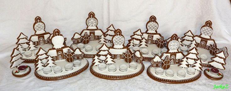 gingerbread - Advent villages - medovníčky - adventné dedinky