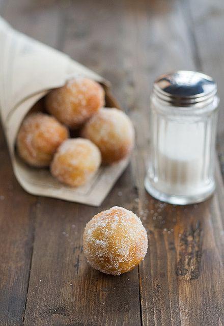 Bolitas de Donut caseros, deliciosos!