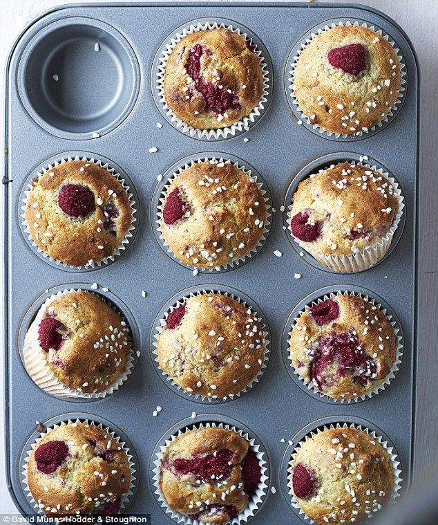 These blueberry muffins are perfect for beginner bakers or for those looking to make a fruity treat