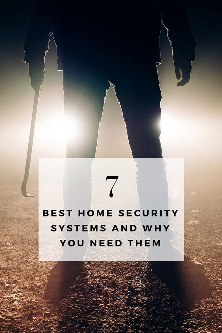The 7 Best Home Security Systems and Why You Need Them - Did you know that homes without security systems in place are more… #homesecurityhacks
