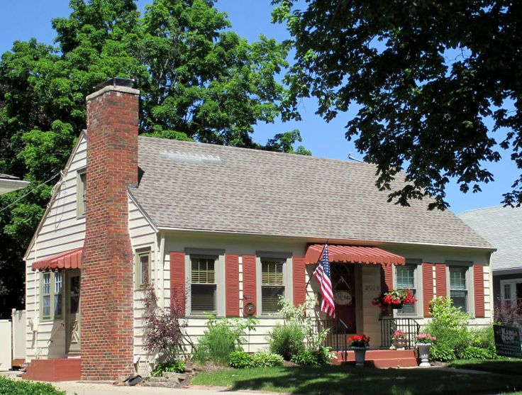 A Sears Cape Cod Model In Rockford Illinois Built About