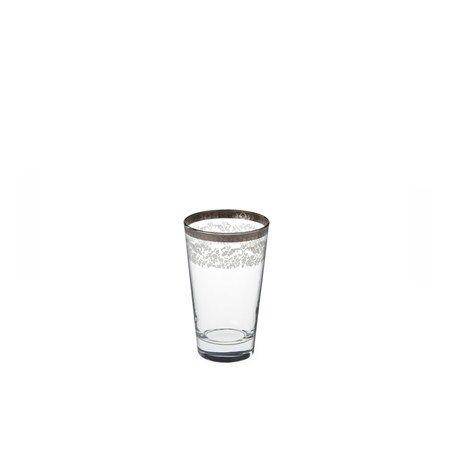 Bridal Platinum Meşrubat Bardağı / Drinking Glass #bernardo #tabledesign #glass #platinum