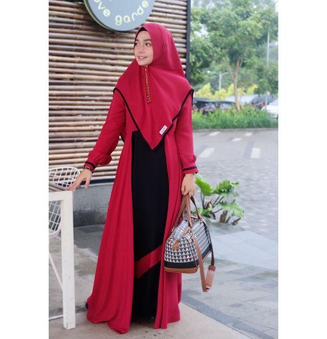 Model Baju Gamis Arniz Terbaru