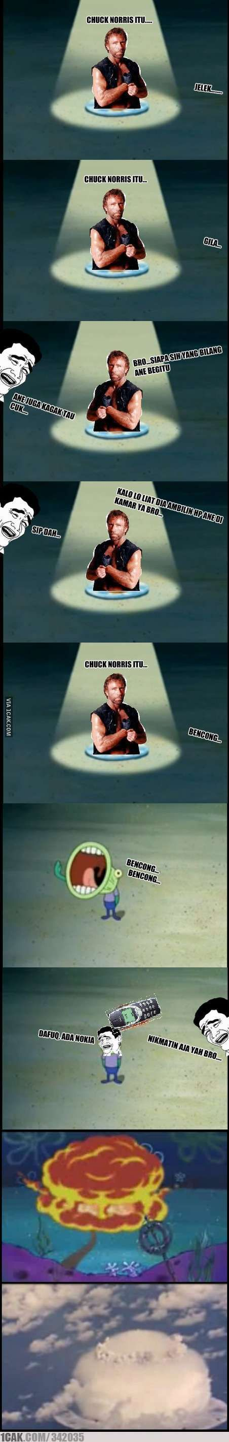 Chuck Norris Hoopla! #1cakerzz