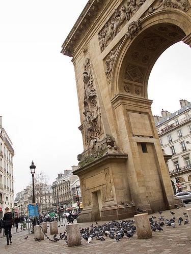 24 best la porte saint denis images on pinterest st denis city and doors - Fourriere porte pouchet paris 17 ...