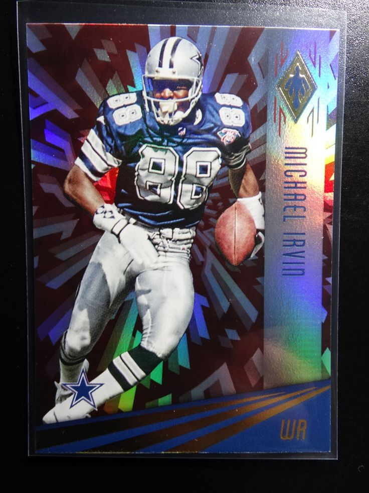 2016 Panini Phoenix  #110 Michael Irvin Dallas Cowboys Red Parallel Card #DallasCowboys