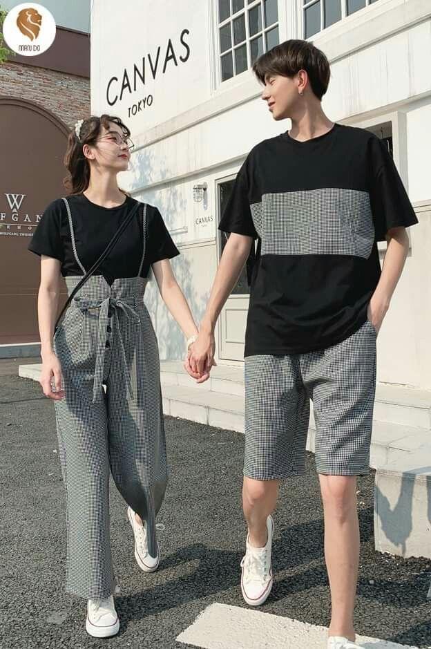 Pin Oleh Maria Paya Di Couple Style Model Pakaian Pakaian Gadis Gaya Ulzzang