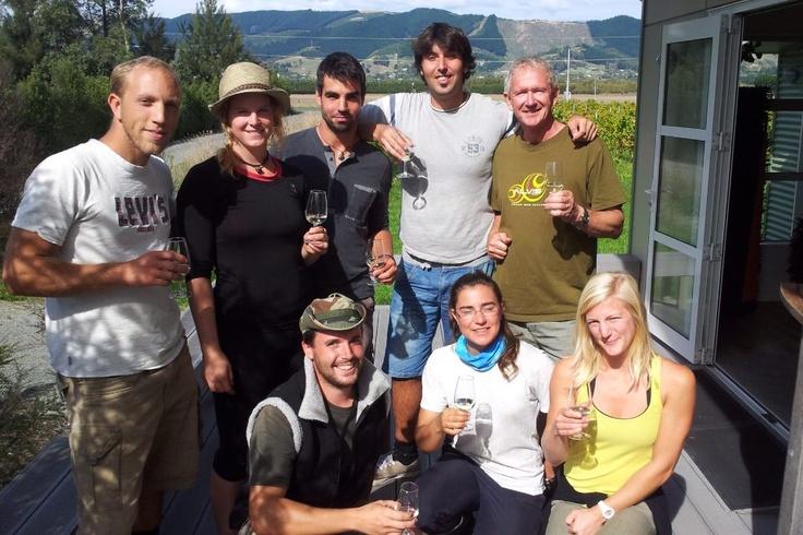 Te Mania Harvest Crew
