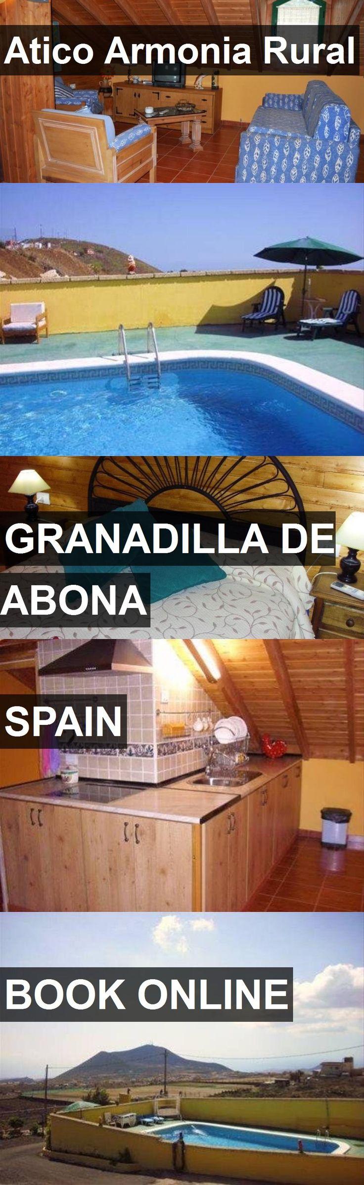 Hotel Atico Armonia Rural in Granadilla de Abona, Spain. For more information, photos, reviews and best prices please follow the link. #Spain #GranadilladeAbona #travel #vacation #hotel
