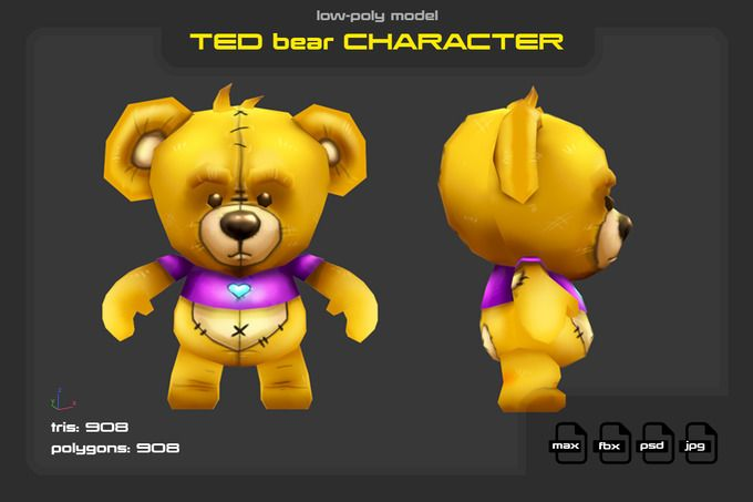 TED by stallfish's art store on @creativemarket