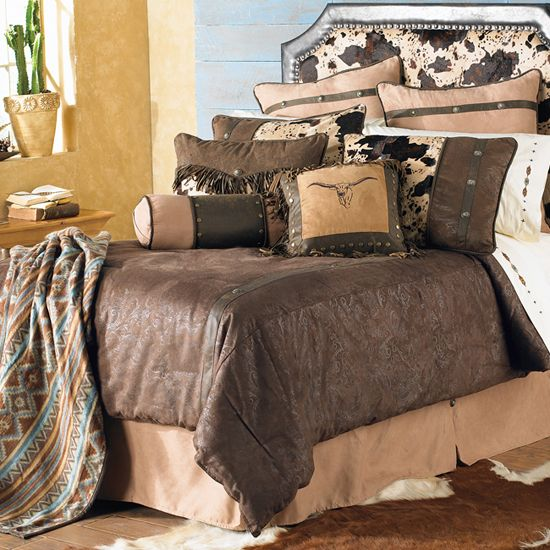 16 best bedroom images on pinterest western rooms beds for Western bedroom ideas