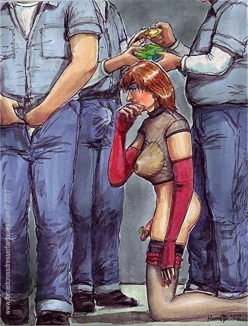 Feminization bdsm gay — photo 2