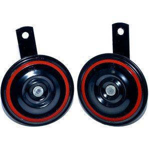 Звуковой сигнал двухтональный WOLO COMPACT - Мотоэкипировка и комплектующие