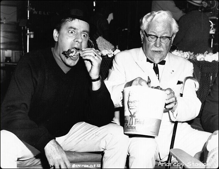 KFC - Jerry Lewis and Colonel Sanders