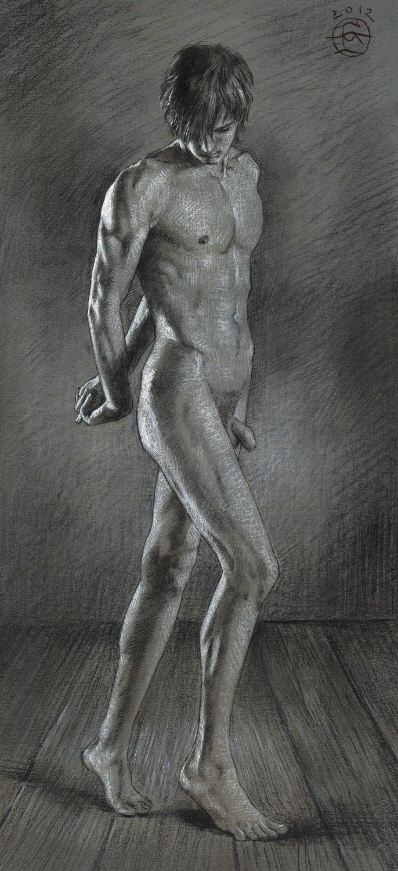 Male erotic fine art