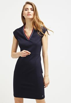 Tommy Hilfiger JENNIFER - Shift dress - blue for with free delivery at  Zalando