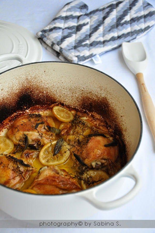 Due bionde in cucina: Pollo con limone e erbe aromatiche