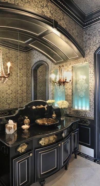 Gothic bathroom