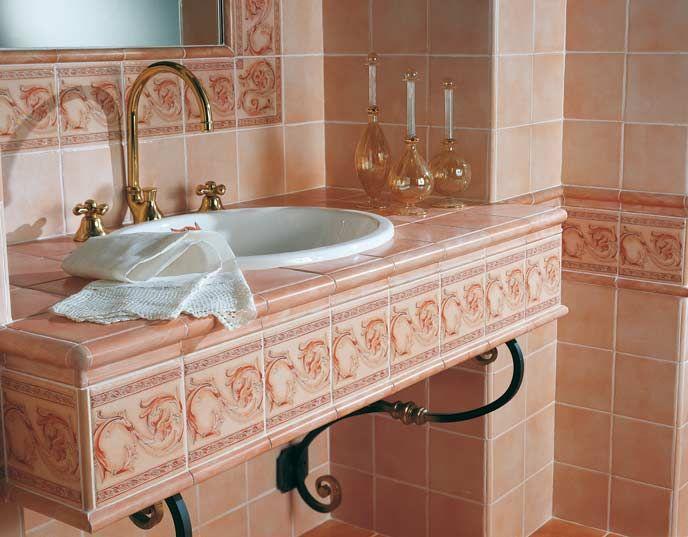 17 migliori idee su dipingere le piastrelle del bagno su - Dipingere piastrelle bagno ...