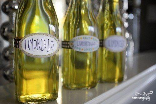 Домашний лимончелло - пошаговый рецепт с фото на Повар.ру