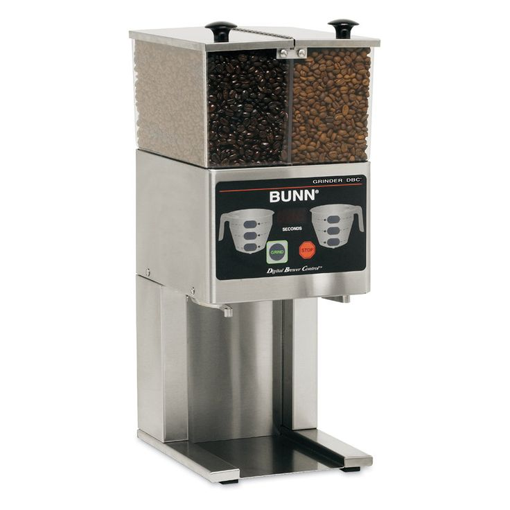 Qualified Bunn Coffee Grinder for Excellent Taste of Coffee : Bunn French Press Coffee Grinder Double Hopper Cool Models