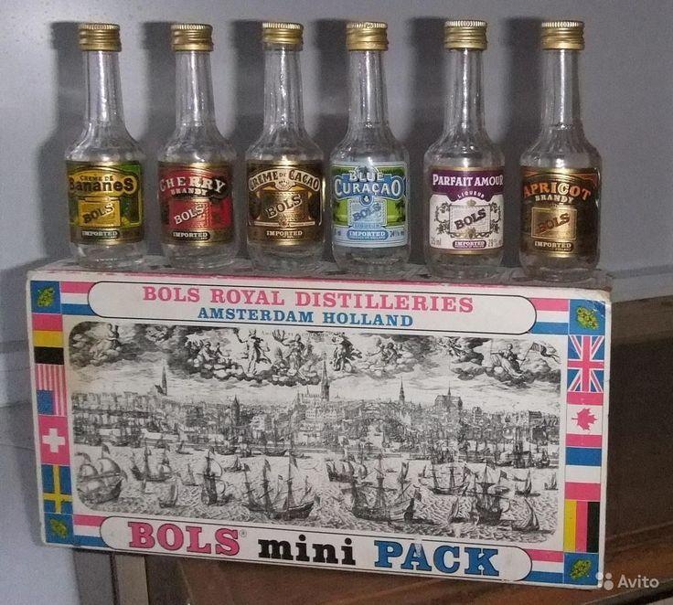 Bols (Болс) Голландия Мини бутылки от ликера купить в Москве на Avito — Объявления на сайте Avito