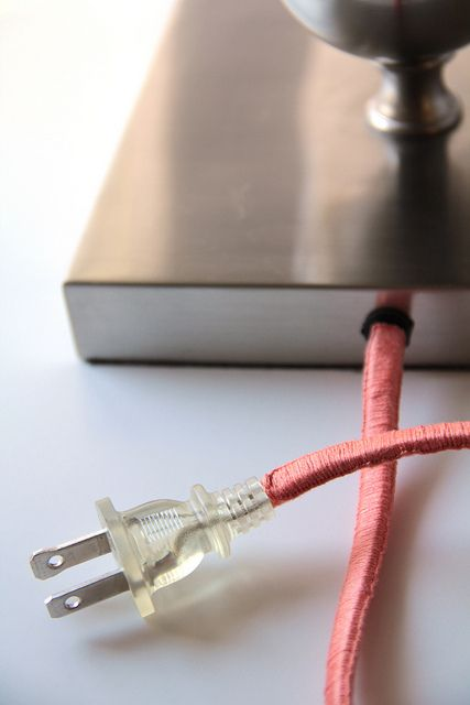 DIY Wrapped Cords | Sisters of Nature Guest Post on Fabric Paper Glue