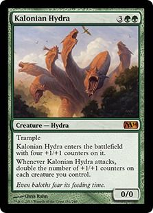 Paying the Naya Price: The SWOT of Kalonian Hydra — Five With Flores.  This is a really cool article for how it evaluates a card.