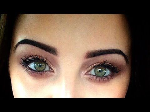 SEMI PERMANENT EYEBROWS (Brow Tattoo) {Video Diary - Before, During Healing, After) - YouTube