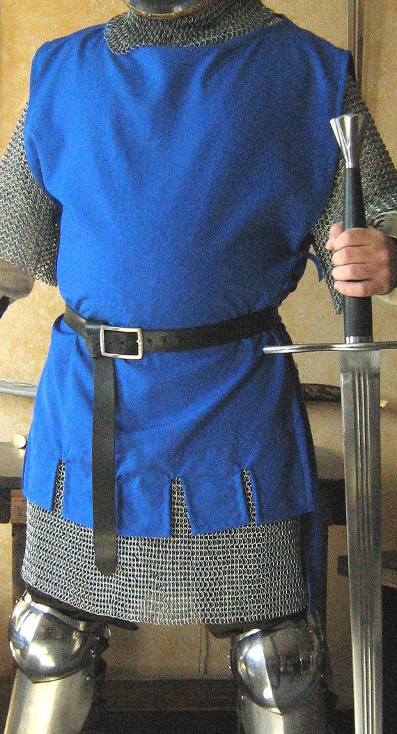 Medieval Knight Men-at-arms Short Surcoat