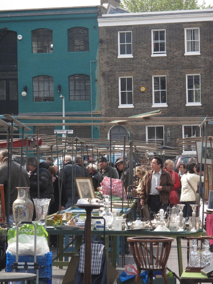 Bermondsey Market,  London markets, England