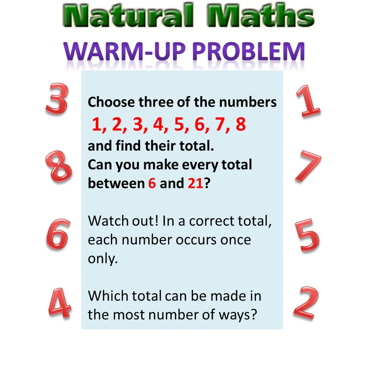Natural Maths