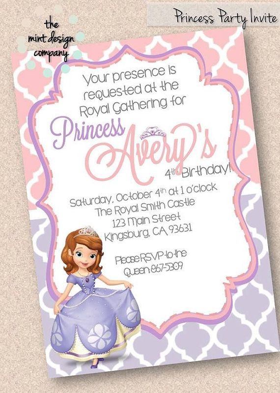 101 best Pretty Parties images – Digital Birthday Party Invitations