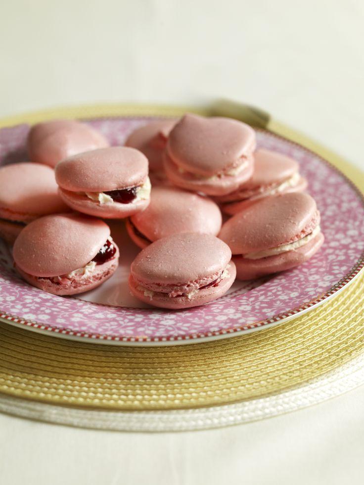 Pink Almond Macaroons
