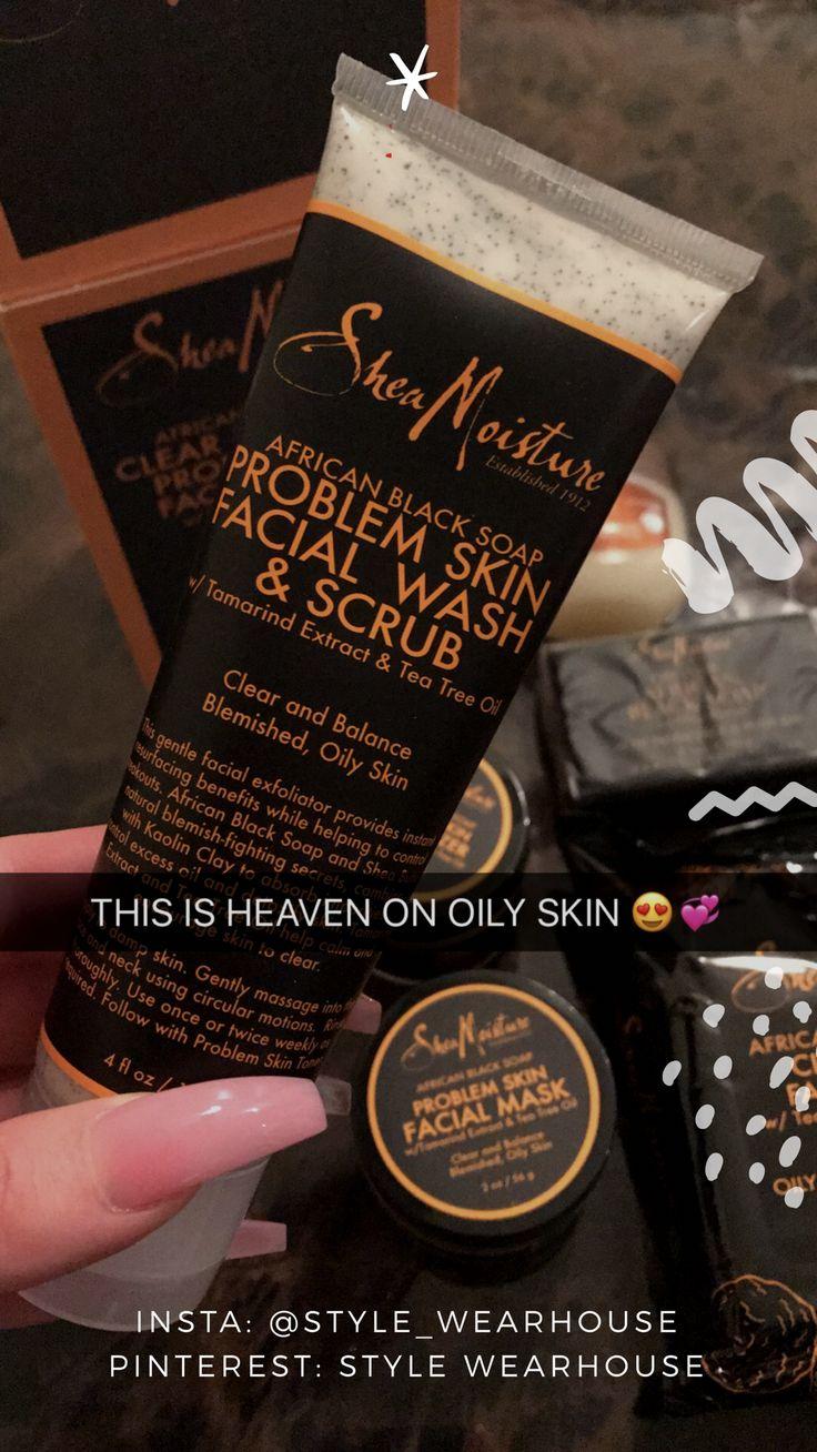 African black soap is HEAVEN on the skin! FOLLOW - Style Wearhouse http://beautifulclearskin.net/