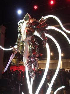 Tyrael statue (from Diablo video game series) by Steve Wang