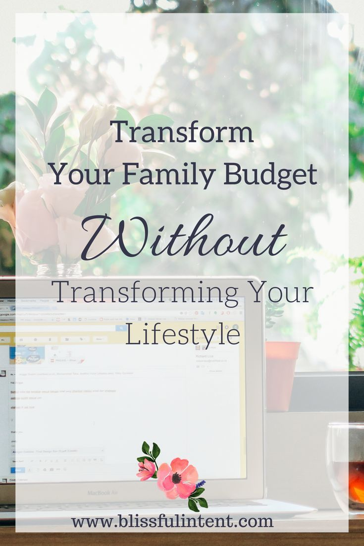 family of 4 budget