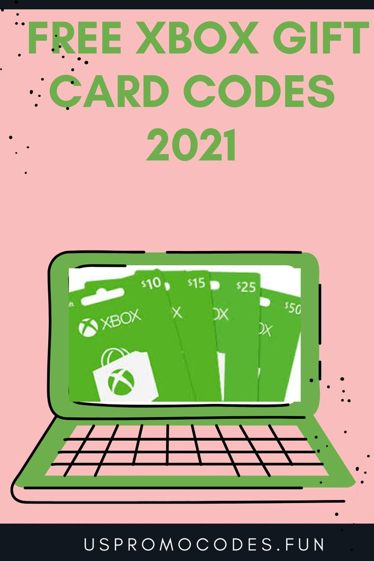 Free xbox gift card codes 2021 in 2021 xbox gifts xbox