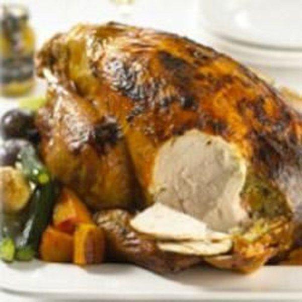 "Glazed Turkey with Maille� Honey Dijon Mustard | ""Amazing!"""