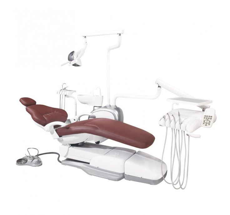 US$ 9400 dentist chair Easyinsmile Electronic control high standard Swing chair mount with side box ESJ16 FDA 510K CE Approved