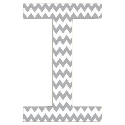 Stupell Industries Chevron Initial Wall Décor Letter: S