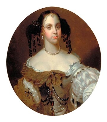 Catherine of Braganza (1638-1705) Queen of King Charles II by J. Huysmans