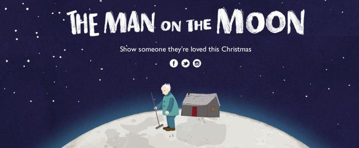 John Lewis I App #ManOnTheMoon I Christmas Advert 2015
