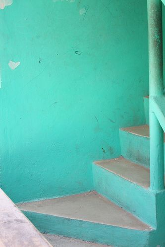 Turquoise Stairs ♥ stylefruits Inspiration ♥