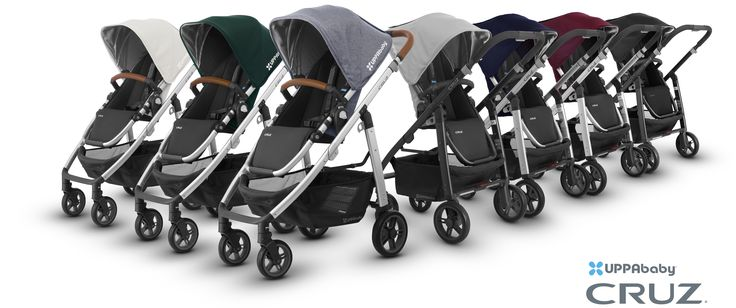 2017 CRUZ color line-up. Parenting is full of adjustments like learning to function on little sleep and never leaving the house again without an arsenal of supplies. Fortunately for parents there's been no compromising with the CRUZ. Its streamlined design gives you more without weighing you down. So stroll down bumpy city streets, maneuver around crowded malls, load your basket with your diaper bag, toys, groceries and whatever else you need. Relax, the world is still your oyster.