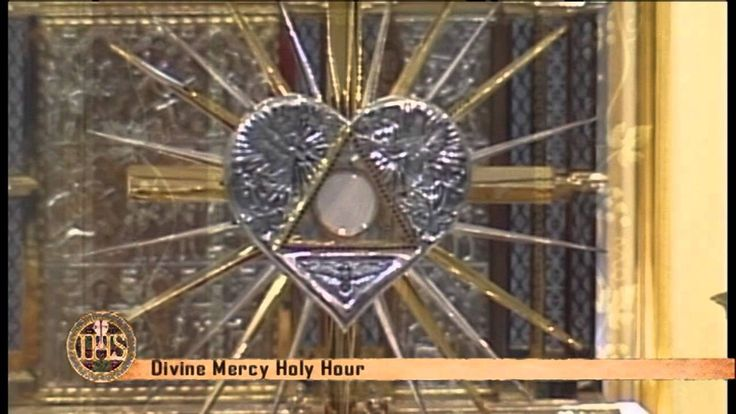 DIVINE MERCY HOLY HOUR (FROM HANCEVILLE) - 2014-4-27 - A Holy Hour in honor of The Divine Mercy, live from the Shrine of the Most Blessed Sacrament in Hanceville, Alabama.