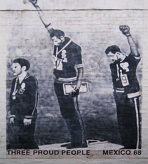1968 Olympics Black Power salute - Wikipedia, the free encyclopedia