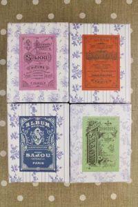 ???????: four Sajou Workshop boxes Sajou albums