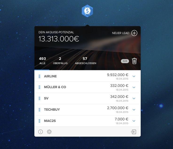 salestime | App | UI UX | sales | leads | buissnes | OSX | appcom